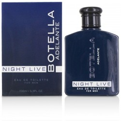 BOTELLA NIGHT LIVE PERFUME PARA HOMBRE 100ML