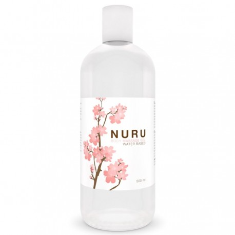 GEL BASE AGUA PARA MASAJE NURU 500 ML