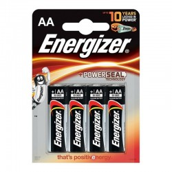 ENERGIZER ALKALINE POWER PILA ALCALINA AA LR6 BLISTER4